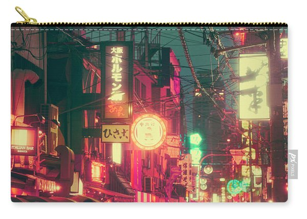 Ura Namba Street Nightlife Osaka Japan Carry-all Pouch