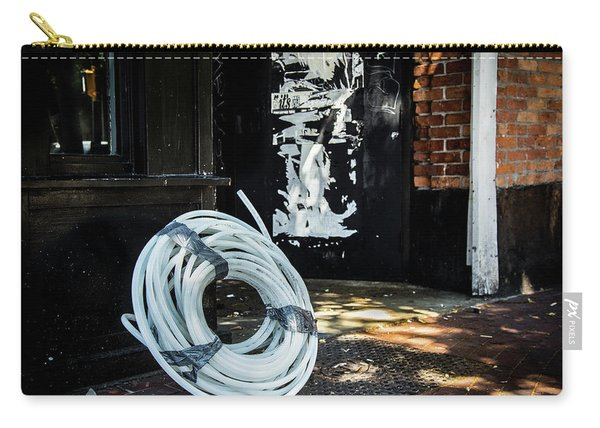 Carry-all Pouch featuring the photograph Urbanscape by Juan Contreras