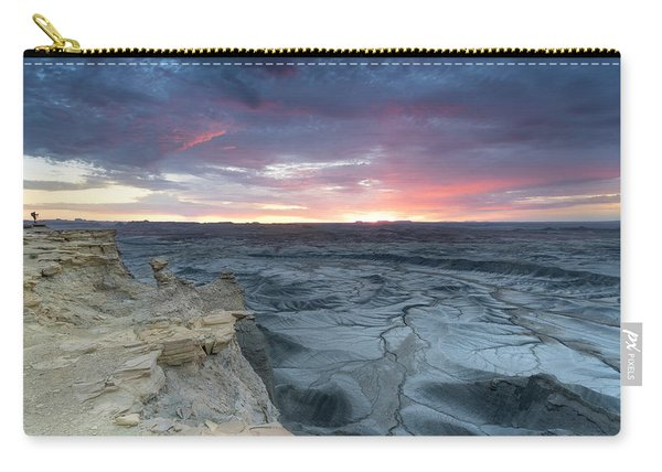 Utah Desert Sunrise Carry-all Pouch