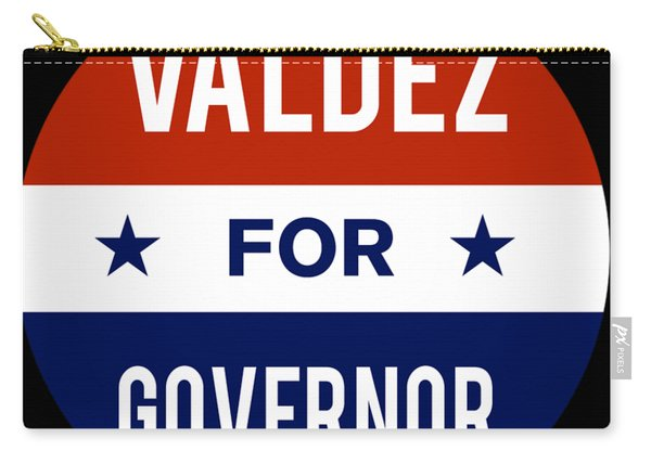 Valdez For Governor 2018 Carry-all Pouch