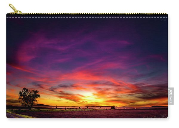 Valentine Sunset Carry-all Pouch