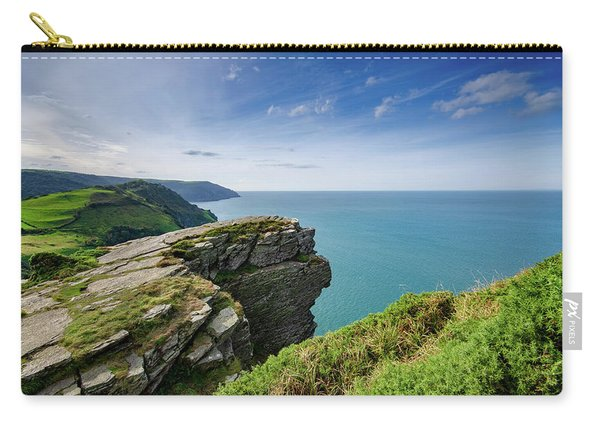 Valley Of The Rocks Views Carry-all Pouch