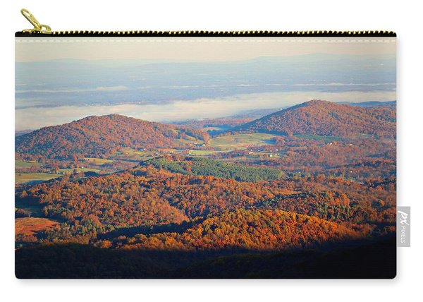 Carry-all Pouch featuring the photograph Valley View by Candice Trimble