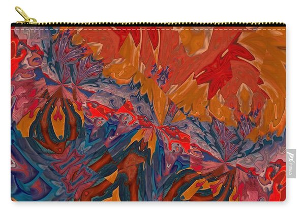 Carry-all Pouch featuring the digital art Van Mam by A zakaria Mami