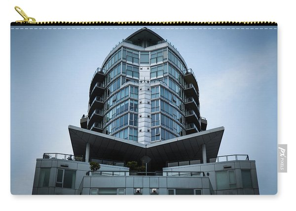Carry-all Pouch featuring the photograph Vancouver Architecture by Juan Contreras