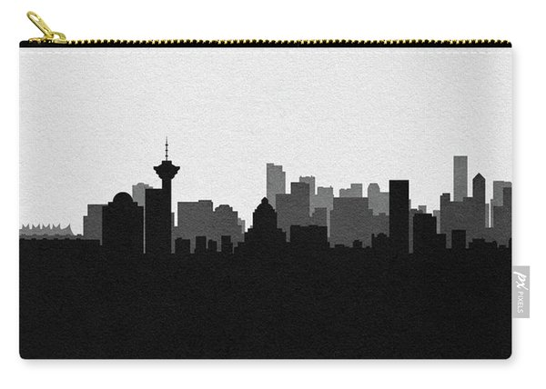 Vancouver Cityscape Art Carry-all Pouch