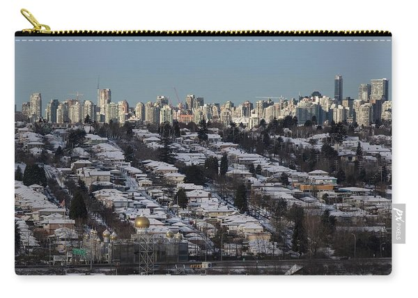 Carry-all Pouch featuring the photograph Vancouver In Winter No. 1 by Juan Contreras