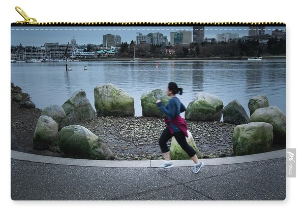 Carry-all Pouch featuring the photograph Vancouver Landscape by Juan Contreras