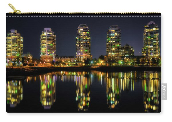 Vancouver Night Reflections Carry-all Pouch
