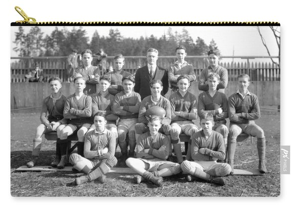 Vancouver Rugby Union  At Rowing Club 1928 Carry-all Pouch