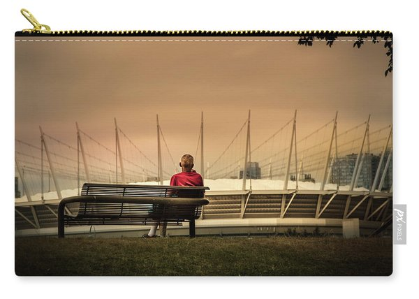 Vancouver Stadium In A Golden Hour Carry-all Pouch