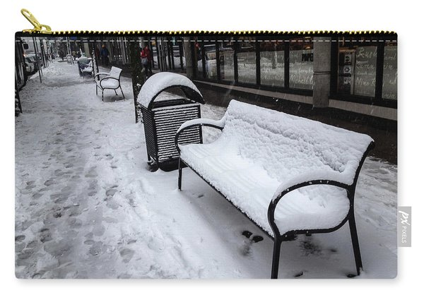 Carry-all Pouch featuring the photograph Vancouver Winter by Juan Contreras