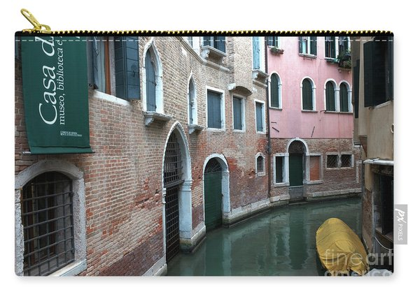 Venetian Streets -canals. Carlo Galdoni Museum Carry-all Pouch