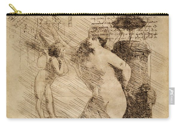 Venus Weigh Cupid Carry-all Pouch