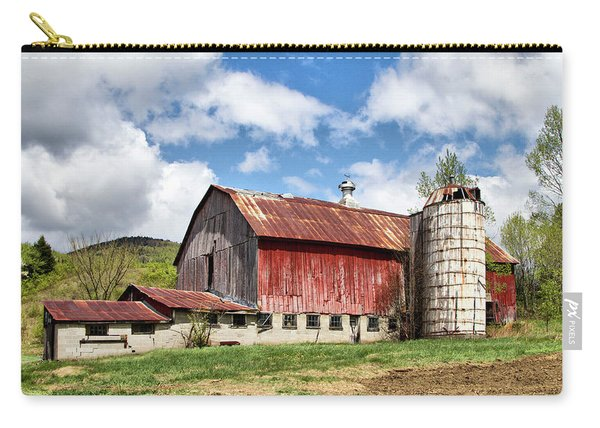 Vermont Barn And Silo  Carry-all Pouch