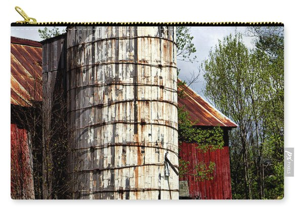 Vermont Farmhouse Silo  Carry-all Pouch