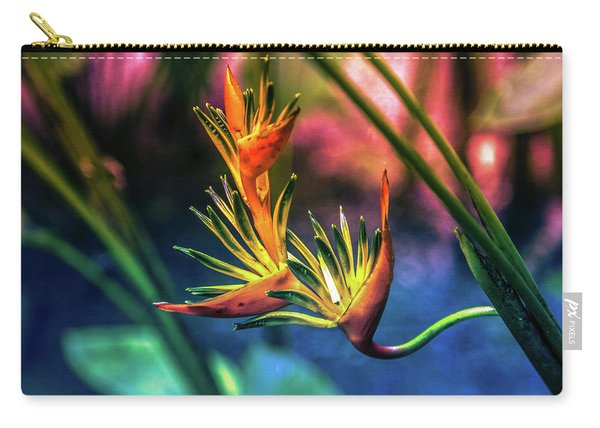 Vibrant Jungle Bird Carry-all Pouch