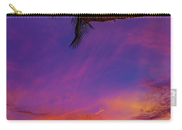 Vibrant Kona Inn Sunset Carry-all Pouch
