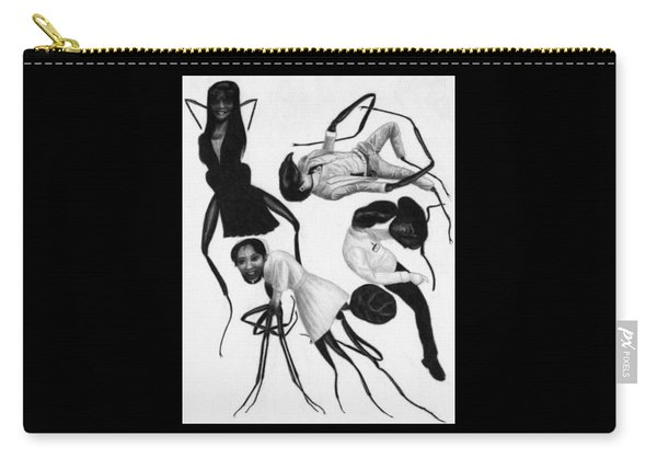 Victims Of Karoshi - Artwork Carry-all Pouch