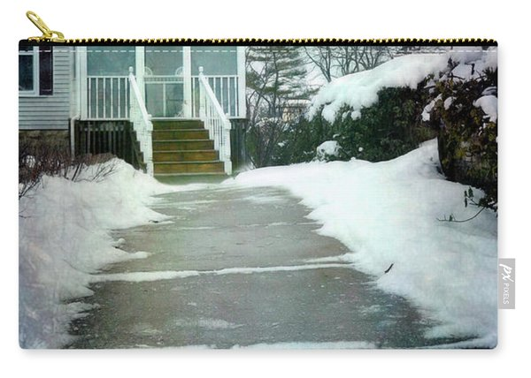 Victorian House In Winter Carry-all Pouch