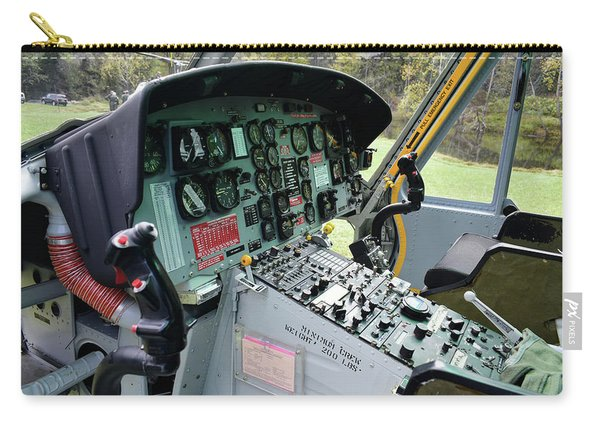 Vietnam Era Helicopter 049 Control Panel 01 Carry-all Pouch
