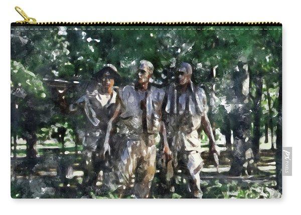 Vietnam Veteran Memorial Carry-all Pouch