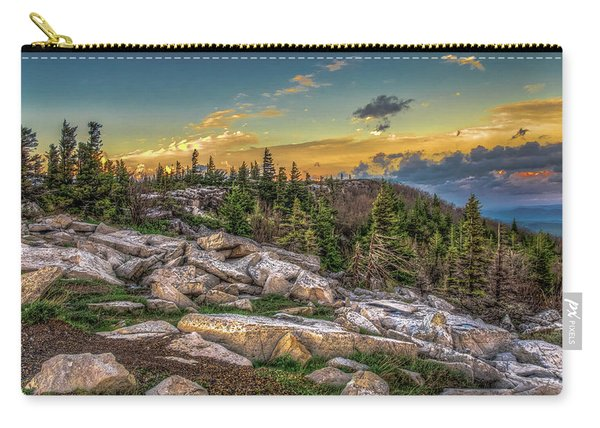 View From Dolly Sods 4714 Carry-all Pouch