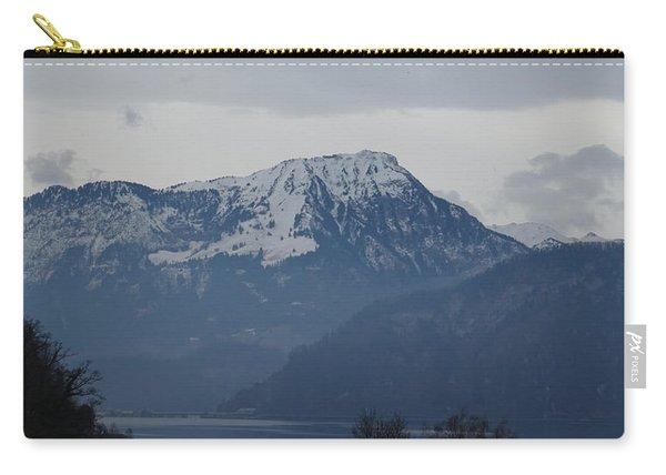 View From My Art Studio - Stanserhorn - March 2018 Carry-all Pouch