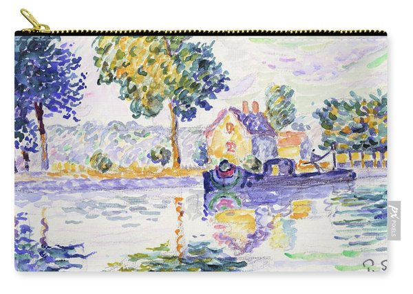View Of The Seine, Samois - Digital Remastered Edition Carry-all Pouch