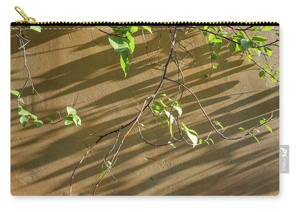 Vines Against An Adobe Wall Carry-all Pouch