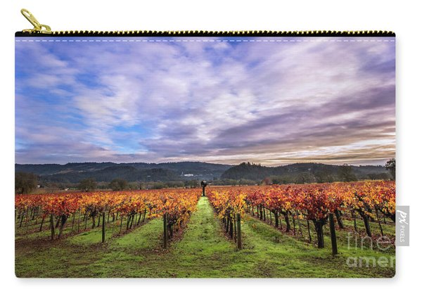 Vineyard Beauty Carry-all Pouch
