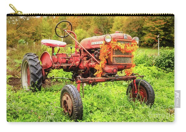 Vintage 1962 Farmall Cub Farm Tractor Autumn Grantham Nh Carry-all Pouch