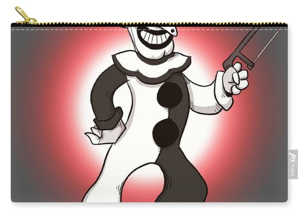 Vintage Art The Clown Carry-all Pouch