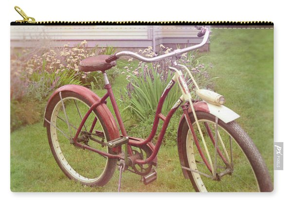 Vintage Bicycle By House Carry-all Pouch