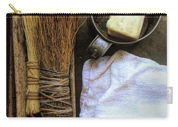 Vintage Cleaning Supplies Carry-all Pouch