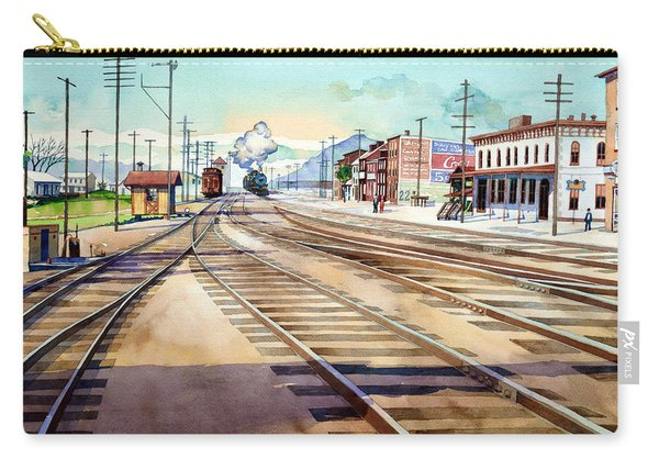 Vintage Color Columbia Rail Yards Carry-all Pouch