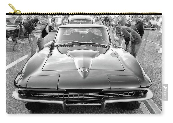 Vintage Corvette Carry-all Pouch
