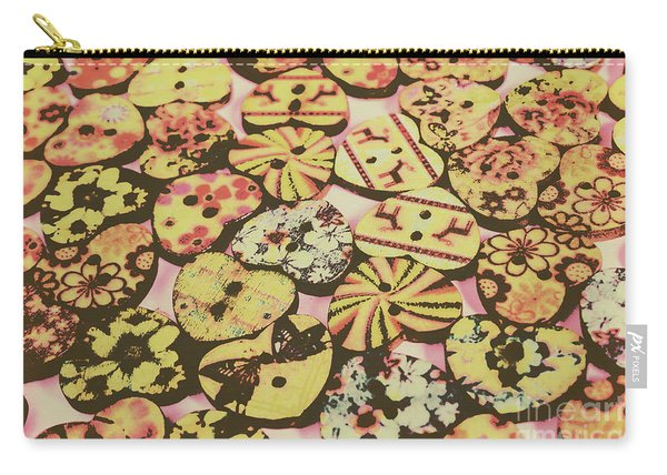 Vintage Dressmaking Designs Carry-all Pouch