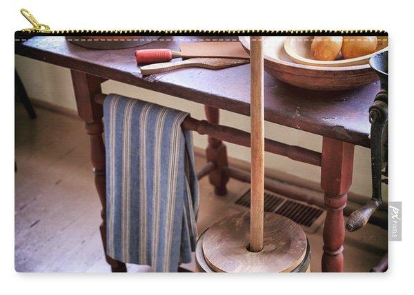 Vintage Farmhouse Butter Churn Carry-all Pouch