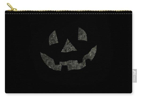 Vintage Pumpkin Face Carry-all Pouch