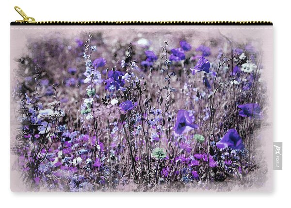 Violet Mood Carry-all Pouch