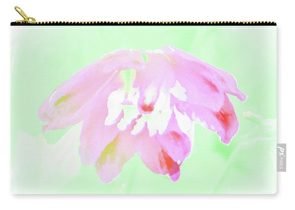 Violet Red Islamic Flora Carry-all Pouch