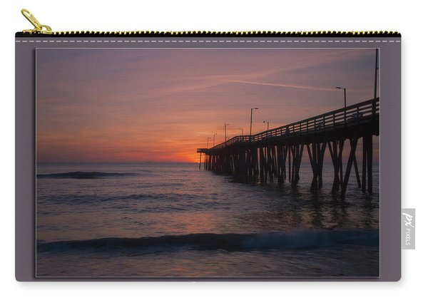 Virginia Beach Sunrise Carry-all Pouch