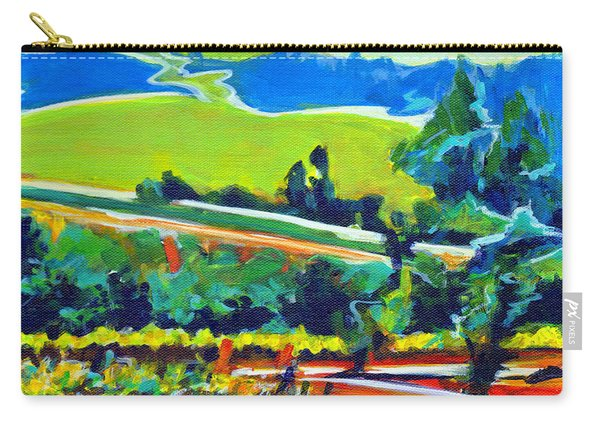 Vistas And Vineyards Carry-all Pouch