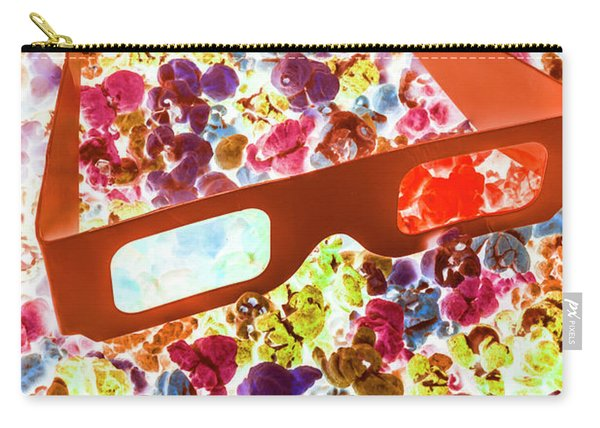 Visual Pop Art Carry-all Pouch