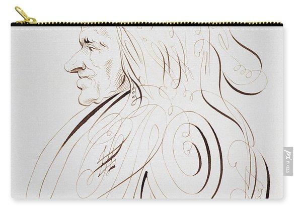 Voltaire By Bernard De Paris  Carry-all Pouch