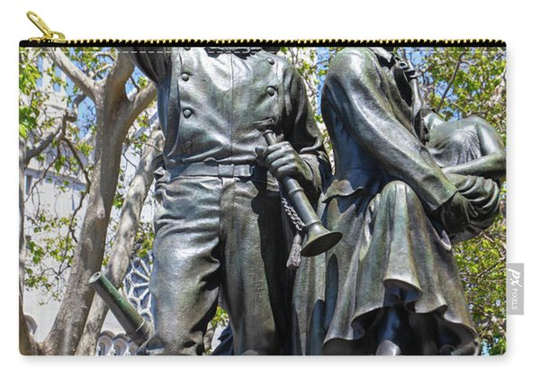 Volunteer Fire Department Of San Francisco 1849 To 1866 Statue At Washington Park San Francisco R680 Carry-all Pouch