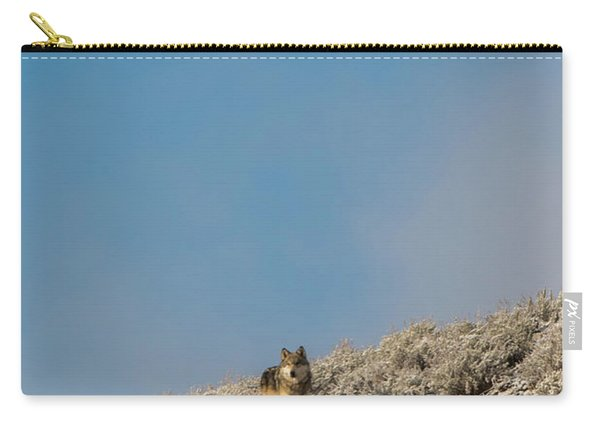 Carry-all Pouch featuring the photograph W24 by Joshua Able's Wildlife