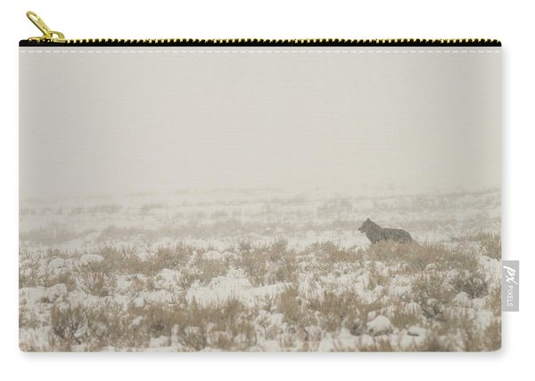 Carry-all Pouch featuring the photograph W34 by Joshua Able's Wildlife