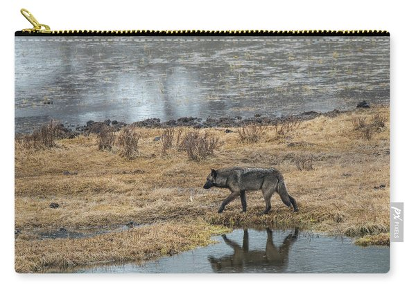 Carry-all Pouch featuring the photograph W53 by Joshua Able's Wildlife